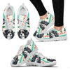 Cavalier King Charles Spaniel Christmas Print Running Shoes For Women-Free Shipping