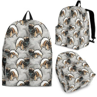Tibetan Spaniel Dog Print Backpack-Express Shipping - Deruj.com