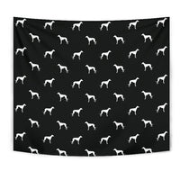 Whippet Dog Pattern Print Tapestry-Free Shipping - Deruj.com