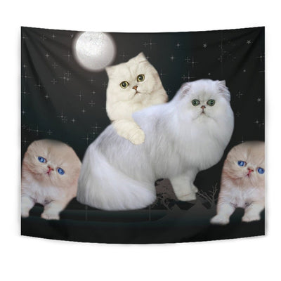 Lovely Persian Cat Print Tapestry-Free Shipping - Deruj.com
