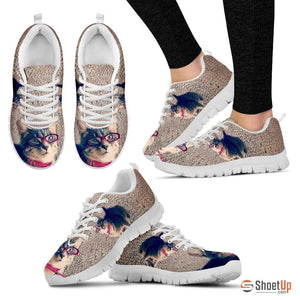 Bree patanella/Cat-Running Shoes For Women-3D Print-Free Shipping - Deruj.com