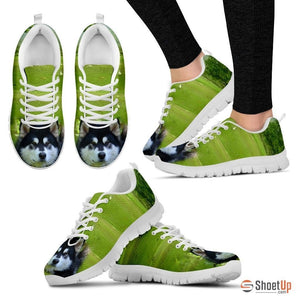 'Alaskan Dog' Running Shoes Women's-3D Print-Free Shipping - Deruj.com