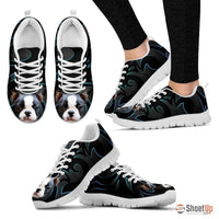 Boston Terrier Running Shoe For Women- Free Shipping - Deruj.com