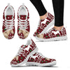 Belgian horse Print Christmas Running Shoes For Women-Free Shipping - Deruj.com