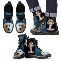 Cute Havanese Print Boots For Men- Express Shipping - Deruj.com