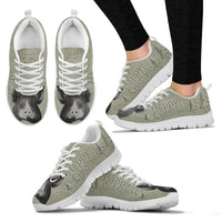 Berkshire pig Print Christmas Running Shoes For Women-Free Shipping - Deruj.com