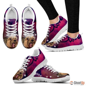 Jennifer Willis/ Dog Print Running Shoe For Women- Free Shipping - Deruj.com