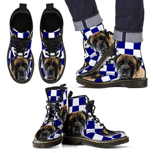 English Mastiff Print Boots For Men-Express Shipping - Deruj.com