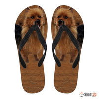 Australian Terrier Flip Flops For Women-Free Shipping - Deruj.com