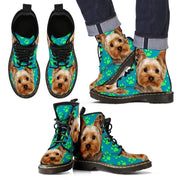 Yorkshire Print Boots For Men-Limited Edition-Express Shipping - Deruj.com
