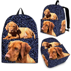 Vizsla Dog Print BackPack - Express Shipping - Deruj.com