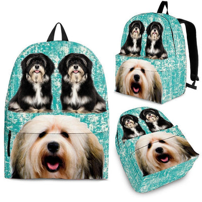Havanese Dog Print Backpack-Express Shipping - Deruj.com