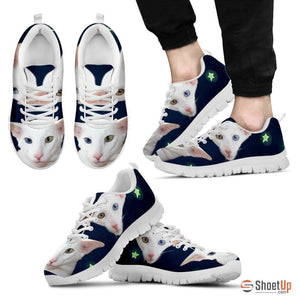 Oriental Cat Print Running Shoes For Men-Free Shipping - Deruj.com