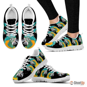 Blue-Threaded Macaw Running Shoes For Women-Free Shipping - Deruj.com