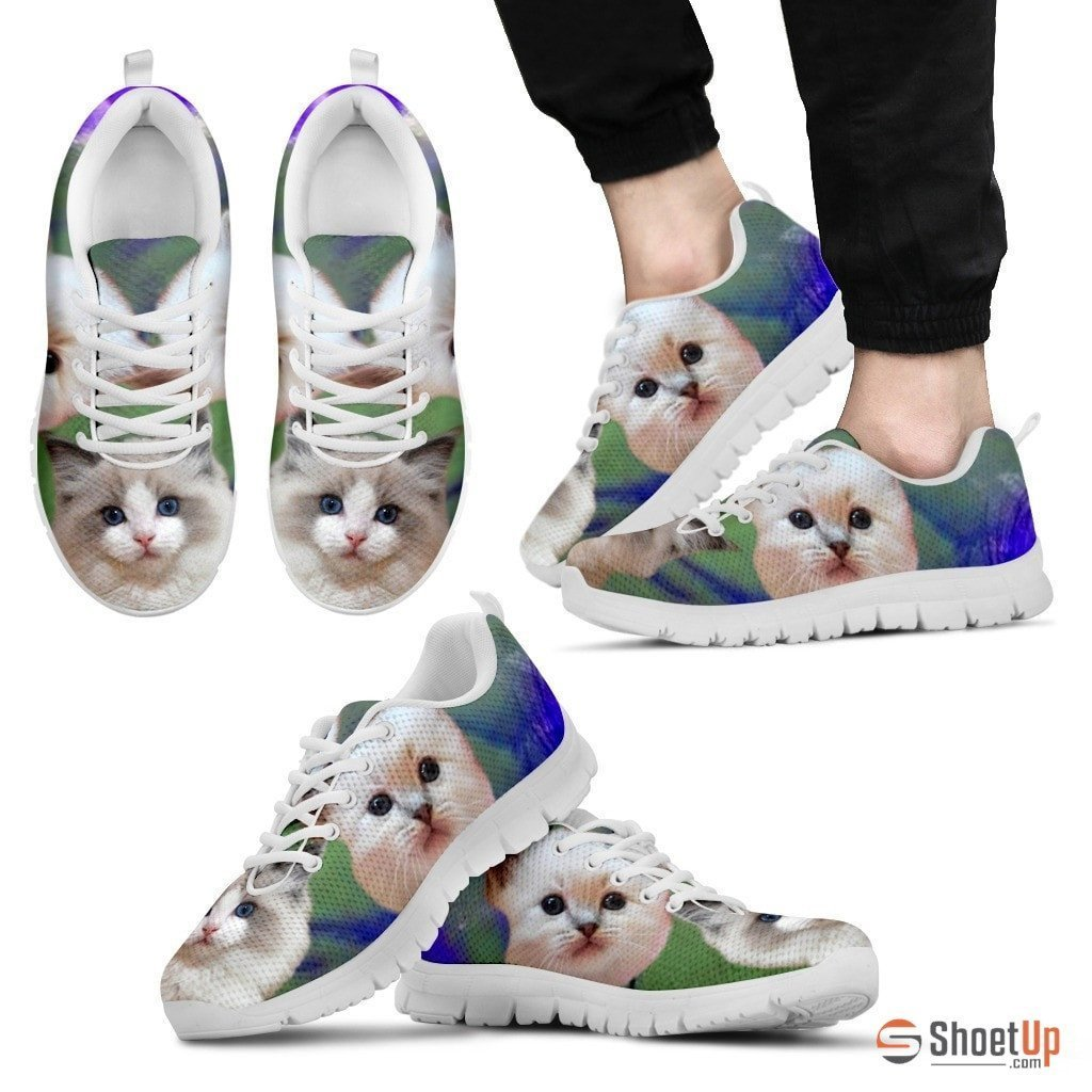RagDoll Cat Print Running Shoes For Men-Free Shipping - Deruj.com