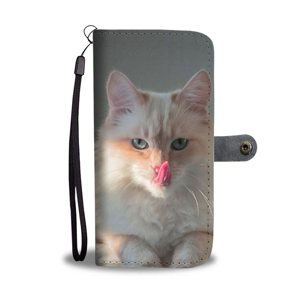 Cute Birman Cat Print Wallet Case-Free Shipping - Deruj.com