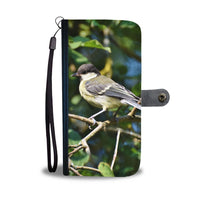 Great Tit Bird Print Wallet Case-Free Shipping - Deruj.com
