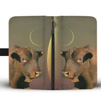 Senepol Cattle (Cow) Print Wallet Case-Free Shipping - Deruj.com