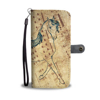 Lovely Anglo Arabian Horse Wallet Case- Free Shipping - Deruj.com