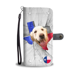 Golden Retriever Print Wallet Case- Free Shipping-TX State - Deruj.com