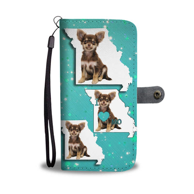 Cute Chihuahua Dog Print Wallet Case-Free Shipping-MO State - Deruj.com