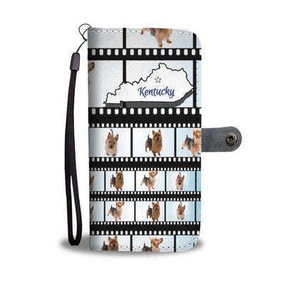 Amazing Australian Terrier Print Wallet Case-Free Shipping-KY State - Deruj.com