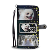 Cute Pomeranian Dog Print Wallet Case-Free Shipping-KS State - Deruj.com