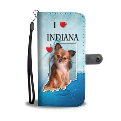 Lovely Chihuahua Print Wallet Case-Free Shipping-IN State - Deruj.com