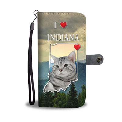 American Shorthair Cat Print Wallet Case-Free Shipping-IN State - Deruj.com