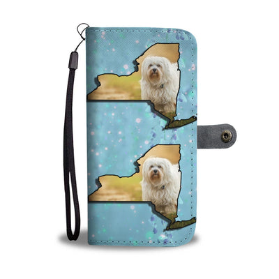 Havanese Dog Print Wallet Case-Free Shipping-NY State - Deruj.com