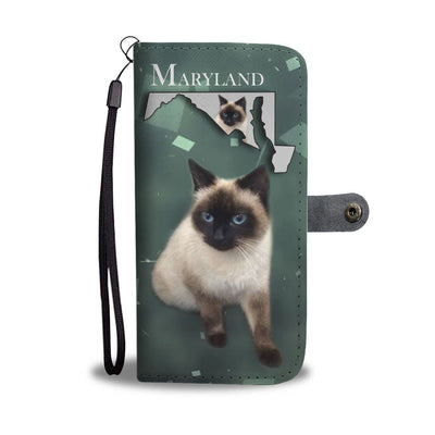 Amazing Balinese Cat Print Wallet Case-Free Shipping-MD State - Deruj.com