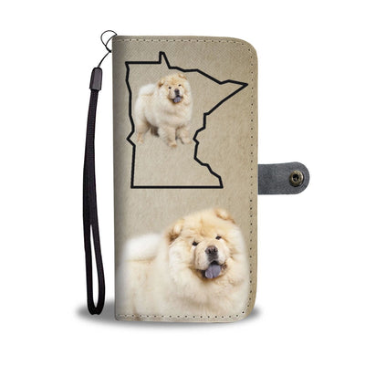 Chow Chow Print Wallet Case-Free Shipping-MN State - Deruj.com