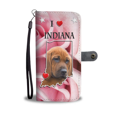 Redbone Coonhound Print Wallet Case-Free Shipping-IN State