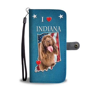 Sussex Spaniel Print Wallet Case-Free Shipping-IN State - Deruj.com