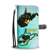Vizsla Dog Golden Art Print Wallet Case-Free Shipping-WV State - Deruj.com