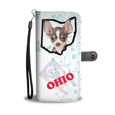 Chihuahua Print Wallet Case-Free Shipping-OH State - Deruj.com