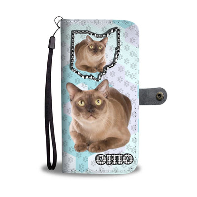 Burmese cat Print Wallet Case-Free Shipping-OH State - Deruj.com