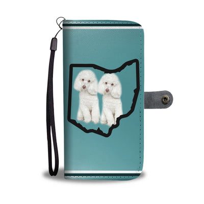 Poodle Dog Print Wallet Case-Free Shipping-OH State - Deruj.com
