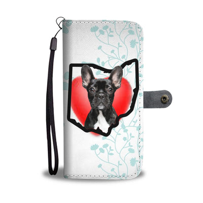 French Bulldog Print Wallet Case-Free Shipping-OH State - Deruj.com