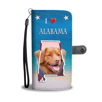 Nova Scotia Duck Tolling Retriever Wallet Case-Free Shipping- AL State - Deruj.com