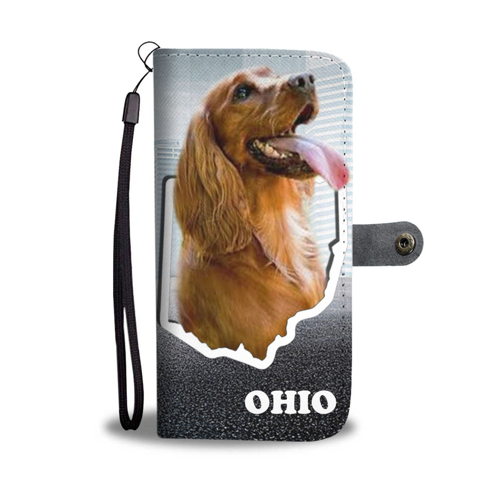 Cocker Spaniel Print Wallet Case-Free Shipping-OH State - Deruj.com