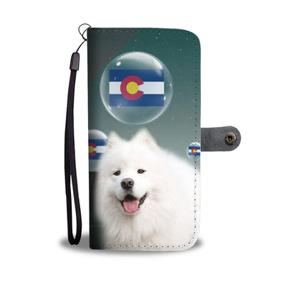 American Eskimo Dog Print Wallet Case-Free Shipping-CO State