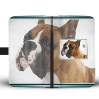 Boxer Dog Print Wallet Case-Free Shipping-CO State - Deruj.com
