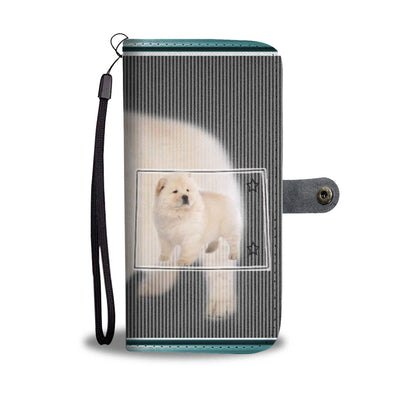 Chow Chow Dog Print Wallet Case-Free Shipping-CO State - Deruj.com
