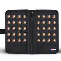 Bulldog Print Wallet Case-Free Shipping-CO State - Deruj.com