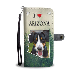 Entlebucher Mountain Dog Print Wallet Case-Free Shipping-AZ State - Deruj.com