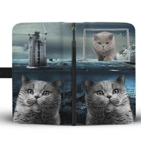 British Shorthair Cat Print Wallet Case-Free Shipping-CO State - Deruj.com