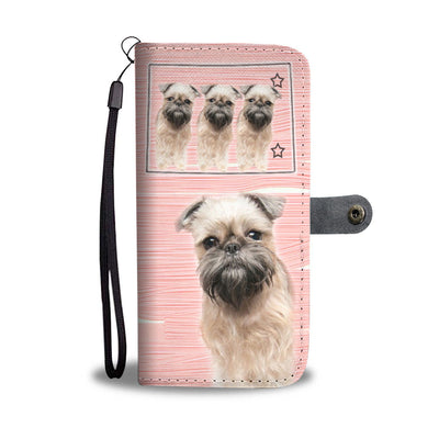 Brussels Griffon Print Wallet Case-Free Shipping-CO State - Deruj.com