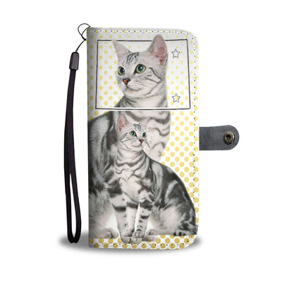 American Shorthair Print Wallet Case-Free Shipping-CO State - Deruj.com