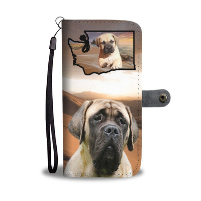 English Mastiff Print Wallet Case-Free Shipping-WA State - Deruj.com